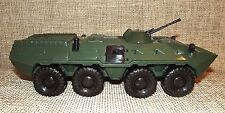 Ukrainian toy. Military vehicle. Armored personnel carrier BTR-80. 1/27 scale