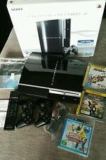 Sony PlayStation 3 Piano Black 80 GB Console - PS3 - BOXED