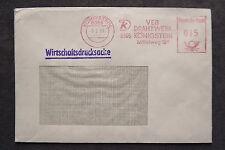 DDR Firmen Stempel - VEB Drahtwerk Königstein - Brief Freistempel /S6