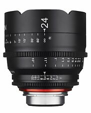 New Rokinon Xeen 24mm T1.5 Professional Cine Full Frame Lens for Nikon XN24-N