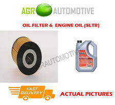 PETROL OIL FILTER + FS 5W40 ENGINE OIL FOR VOLVO S40 1.6 105 BHP 1998-99