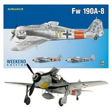 Fw 190A-8 - 1/48 Weekend Edition Eduard Aircraft Model Kit #84120