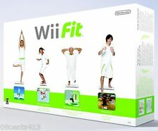 Wii Fit [Boxed Bundle] (Wii) Graphs and Charts to Keep Track of Daily Activity!