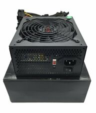 Black 1000 Watt 140mm Fan Grill ATX SATA PCIe Molex 24/8 Pin Power Supply Silent