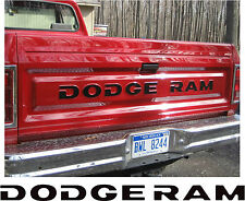 81-93 DODGE RAM FULL SIZE PICKUP TRUCK TAILGATE LETTERS DECALS STICKERS