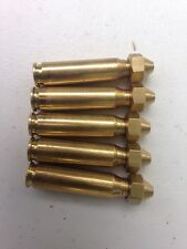5 Custom Brass Speed Loaders for loose muzzleloader powder. 55-60 Grain Cap.