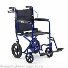 "ProBasics Invacare Aluminum Transport Chair with 12"" Rear Wheels"