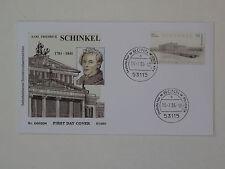 (l552) Bund Schmuck FDC Michel Nr. 2552 Karl Friedrich Schinkel Architekt 2006