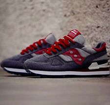 size 9.5 BAIT x Saucony Cruel World 4 Shadow Original gray red