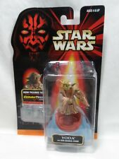 Hasbro Star Wars Episode 1 Yoda with Jedi Council Chair CommTech Chip