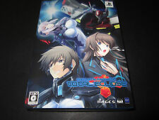 PS3 Muv-Luv Alternative Total Eclipse Limited Edition Japanese Game