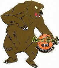 Hard Rock Cafe MEMPHIS Grizzly Bear Basketball Logo PIN - HRC Catalog #10698