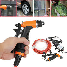 12V 100W High Pressure Self-priming Electric Car Wash Water Pump Car Washer Set