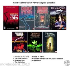 CHILDREN OF THE CORN COMPLETE COLLECTION DVD All 7 Movie Film Stephen King New