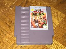Bad Dudes Nintendo Nes Cleaned & Tested