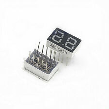 5x Red 0.28'' 2 Digit Red LED Display 7 Segment Common Cathode