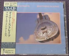 "DIRE STRAITS ""BROTHERS IN ARMS"" JAPAN SHM-SACD JEWEL CASE 2016 *SEALED*"