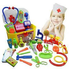 luxury Doctor&Nurse Medical Toy Surgeon First Aid Kit Play set for Children NN