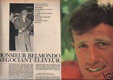 Coupure de presse Clipping 1964 Monsieur Jean Paul Belmondo (8 pages)
