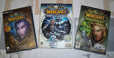 """JUEGO PC""""PACK WORLD WARCRAFT+EXPANSION WRATH OT THE LICH KING Y BURNING CRUSADE"""""""