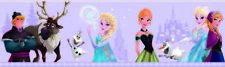 Fr35033-Disney Déco Papier Peint Multicolore frontière congelés