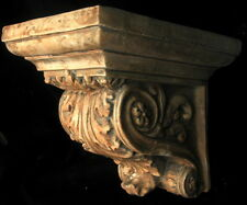 Huge Acanthus Leaf Greek Roman Sconce Art Bracket