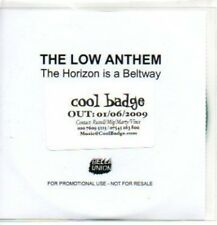 (187J) The Low Anthem, The Horizon is a Beltway - DJ CD