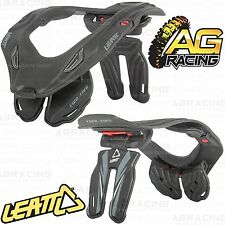 Leatt 2014 GPX 5.5 Adult Neck Brace Protector Black Grey Small Medium Quad ATV