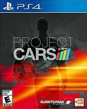 PROJECT CARS PS4 SPORTS NEW VIDEO GAME