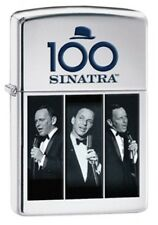 Zippo 28960 Frank Sinatra High Polish Chrome Limited 3500 Units Lighter