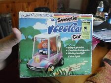 Sweetie Ice Cream Car Motion Musical Lights Battery Operated Vtg Box Kay-Bee Toy