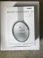 Bose QuietComfort 35 New In Box Silver Headphones
