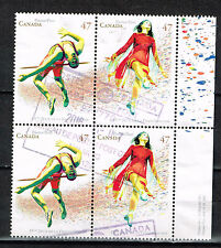 Canada Sport French Speaking Countries Games stamps block 1994