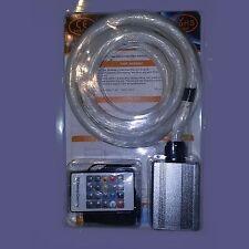 Led & fiber optic star kit for wall ceiling lighting 300pc fibre 3 feet long