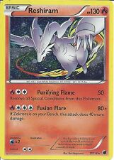 POKEMON CARD: BLACK & WHITE - RESHIRAM 17/116 PROMO ALTERNATE HOLO