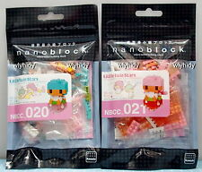 Sanrio Little Twin Star Nano Block NBCC020, 021, 2pcs - Kawada    .h#10
