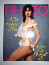 PHOTO FRENCH MAGAZINE #215 aout 1985 Elite l'agence des plus belles filles