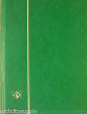 LIGHTHOUSE STOCK BOOK - 64 BLACK  PGS - GREEN CVR - NEW- FREE SHIP  #LH-LSP4/32