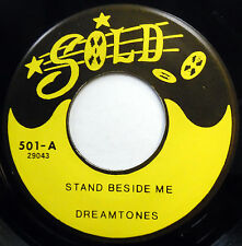DREAMTONES 45 Stand Beside Me / Love In The Afternoon NEAR MINT Doo Wop e6655