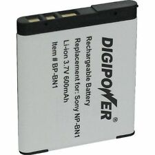 Digipower BP-BN1A Replacement Li-Ion Battery for Sony NP-BN1