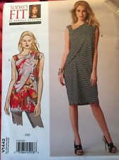 Vogue Patterns V1442 Misses Tunic Dress Sewing Template All Sizes