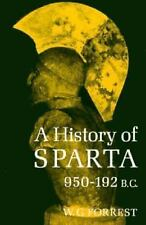 History of Sparta, 951-192 B. C. by W. G. Forrest (1969, Paperback, Reprint)