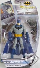 "DETECTIVE BATMAN DC Comics Total Heroes 6"" inch Action Figure Mattel 2014"