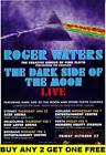 ROGER WATERS Dark Side Of The Moon 2007 Australian Laminated Tour Poster