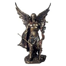 Archangel Gabriel with Staff Bronze Figurine By Nemesis Now