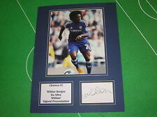 Willian Signed Chelsea FC 2014/15 Premier League Press Photo Action Mount