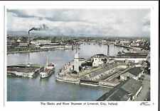 The Docks and River Shannon at Limerick City PPC, Unposted