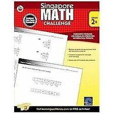 Singapore Math Challenge, Grades 2+ CCSS   Frank Schaffer Publications