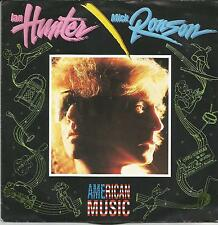 IAN HUNTER MICK RONSON American music GERMAN SINGLE MERCURY 1989