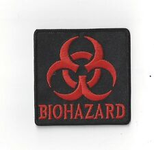 "BIO HAZARD""  IRON ON  PATCH BUY 2 WE SEND THREE"